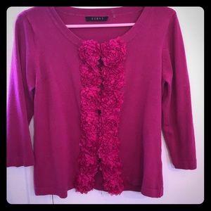 Cyrus pink floral blazer